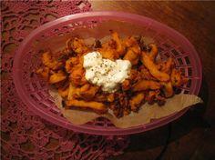 sweet potato with feta cheese
