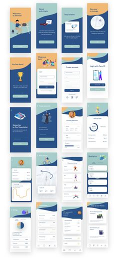 Smartie UI Kit is specially optimized for iOS with minimal style. It includes 20 mobile screen app templates of the highest quality. This UI Kit was designed in Sketch. Includes: walkthrough, login, tracking and banking.