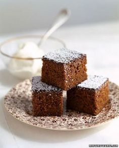 Simple Cake Recipes // Gingerbread Snacking Cake Recipe