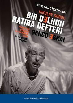 24.03.15: Bir Delinin Hatıra Defteri - Nikolay Gogol - Dostlar Tiyatrosu