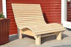 Liegestuhl Relaxliege Sonnenliege AUS Holz FÜR Garten Terasse Balkon | eBay