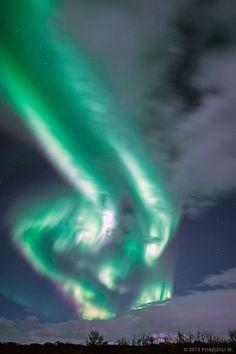 Aurora Twins   by Friðþjófur M.