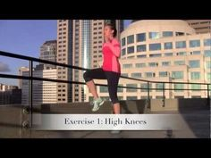 Cardio Workout Video: High Intensity Training Tabata Workout (HIIT)