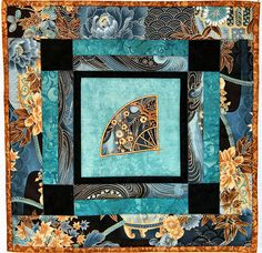 Asian Fan Faire wall hanging quilt kit by SistersArtisans on Etsy, $25.00