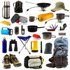 Equipo básico de Camping