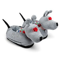 ThinkGeek :: ThinkGeek Exclusive Doctor Who K9 Slippers
