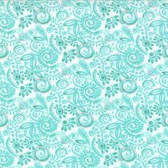Modern Roses - Sweat Pea in Patina (7186 13) // Juberry Fabrics