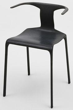 "Light Light Chair  Alberto Meda (Italian, born 1945)    c. 1987. Carbon fiber and Nomex composite honeycomb, 29 1/4 x 21 3/4 x 19 1/2"" (74.3 x 55.2 x 49.5 cm). Manufactured by Alias SpA, Bergamo, Italy. Gift of the manufacturer. © 2013 Alberto Meda"