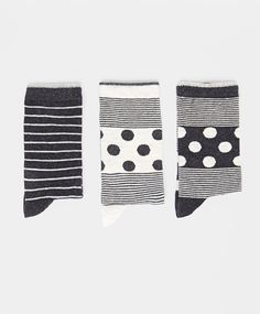 Pack of polka dot mix socks - OYSHO