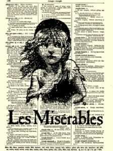 Les Mis to see the theatre production with th best seats in london or New York