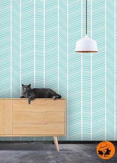 Self adhesive wallpaperremovable wallpaper  par OrangeAwenue
