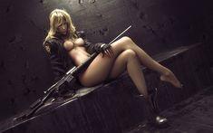 Sniper Wolf by Wen-JR.deviantart.com