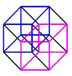 R^4 Euclidean Cube