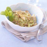 Crumble au poulet, courgettes et chèvre frais - Cuisine et Vins de France