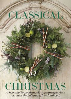 Classical Christmas Decorating...from Splendid Sass.  Lovely decorating ideas on this site.