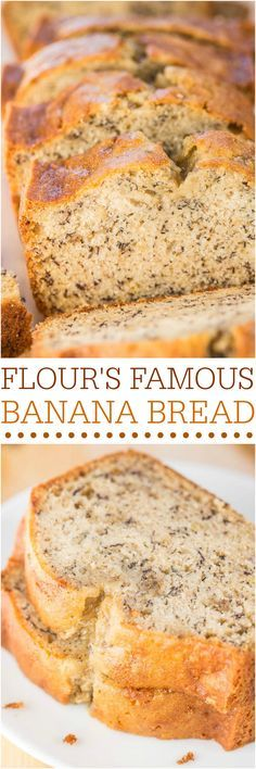 Flour's Famous Banana Bread - Made with Flour Bakery's famous recipe to see if it lives up to the hype. Verdict? Totally fabulous! Make it!!