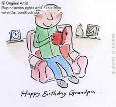 Happy Birthday Grandpa. by Brooks, Rosie