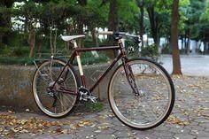 *SURLY* straggler complete bike   by Blue Lug Surly Straggler, Touring Bike, Custom Paint, Blue