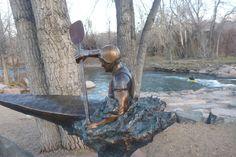 Sculpture Kayak