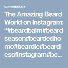 "The Amazing Beard World on Instagram: ""#beardbalm#beardseason#beardedhomo#beardie#beardiesofinstagram#beardmen#noshave#noshavenovember#noshavelife#noshavenation#noshavember#desib…"""