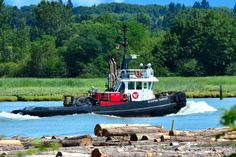 Tugboat Seaspan Tempest | Fraser River, Iona, Richmond by R-Gasman