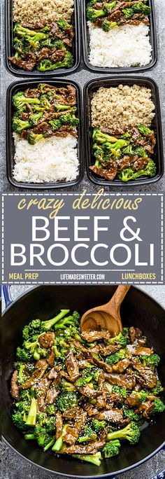 This Skinny Beef and Broccoli Stir-Fry makes the perfect easy weeknight dish full of authentic flavors. Best of all, it's so easy to make and is way better and healthier than your favorite Chinese takeout restaurant. Great for meal prep Sunday and leftove
