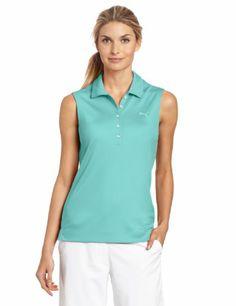 Puma Golf NA Women's Solid Sleeveless Polo Tee, Capri, Small PUMA,http://www.amazon.com/dp/B008XNV1FE/ref=cm_sw_r_pi_dp_qJkjtb0WAD1EXDHN