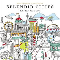 Coloring/colorist's advisory! BookRiot reviews adult coloring books