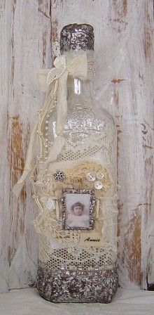 pretty altered bottle. Some are so overdone, but I think this is perfect