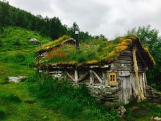 Cabin Porn          – Sunken cabin in Homlongsætra, Norway Submitted by...