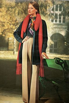 The 1970s-1974 autumn fashion by april-mo, via Flickr