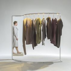 CLOTHING STAND FOR ''LEMUSE'' by Laura Marija Balčiūnaitė, via Behance