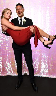 Marist College School Ball So cute! Cutest Couples, College School, Poses, Suits, Fashion, Figure Poses, Moda, Fashion Styles, Adorable Couples