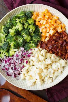 Broccoli and Cauliflower Salad | Cooking Classy