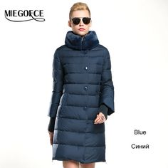 Winter duck down jacket women long coat parkas thickening Female Warm Clothes Rabbit fur collar High Quality - free shipping