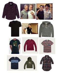 """Le M Frat House"" by kellydbailey on Polyvore featuring Calvin Klein, Element, Abercrombie & Fitch and Lacoste"