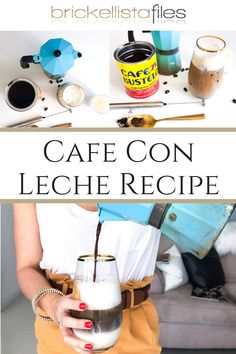 Making a Miami cafecito inspired Iced Cafe con Leche doesn't have to be difficult. In fact if you brew the coffee on a Sunday, the coffee will las. Coffee Shop, Coffee Maker, Gold Rimmed Glasses, Best Iced Coffee, Chocolate Covered Espresso Beans, Cuban Coffee, Miami Girls, Coffee Truck