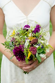 Gorgeous Wildflower Wedding Flowers---these will be my colors for my wedding..just have to add sun flowers :)