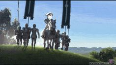 1. Princess Eren meets Levi   16 Funny Attack On Titan GIFs