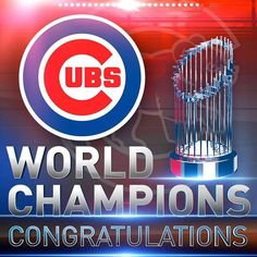 Chicago Cubs :: World Champions!!