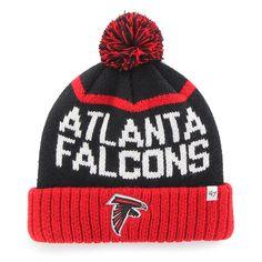 premium selection 88406 e64fe Atlanta Falcons Linesman Cuff Knit Black 47 Brand Hat