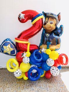 Paw Patrol Birthday Decorations, Paw Patrol Birthday Cake, Ballon Decorations, Paw Patrol Party, Circus Birthday, Birthday Diy, Boy Birthday Parties, Ballon Crafts, Paw Patrol Balloons