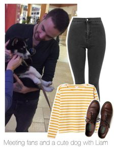 """""""Meeting fans and a cute dog with Liam"""" by bx-sxnnt ❤ liked on Polyvore featuring Monki, women's clothing, women's fashion, women, female, woman, misses, juniors, OneDirection and LiamPayne"""