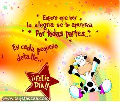Spanish Greetings, Spanish Jokes, Flora, Congratulations, Happy Birthday, Feelings, Quotes, Mugs, Emo