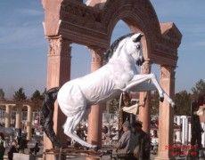 Great Prancing Horse Statue