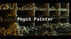 find it here : http://hocuspocus-studio.fr/tools/product/physx-painter/    PhysX Painter is made to very quickly populate your scenes with your assets in a very natural way.    It allows you to create them using a brush,  and automatically place them with Rigid bodies simulation.