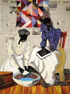 Art by Leroy Campbell. Charleston native Gullah/Geechee
