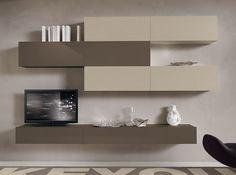 Modern Italian Wall Unit VV 3924 - $3,420.00