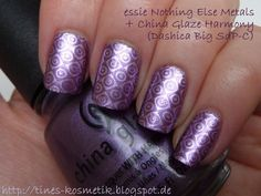 essie Nothing Else Metals Stamping 1