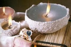 come fare candele con la sabbia